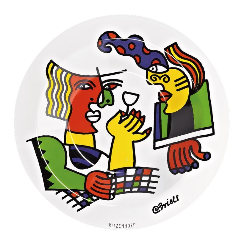 Glasschale Artistico – Design Clemens Briels – 2012 – 2820001, Ritzenhoff günstig online kaufen