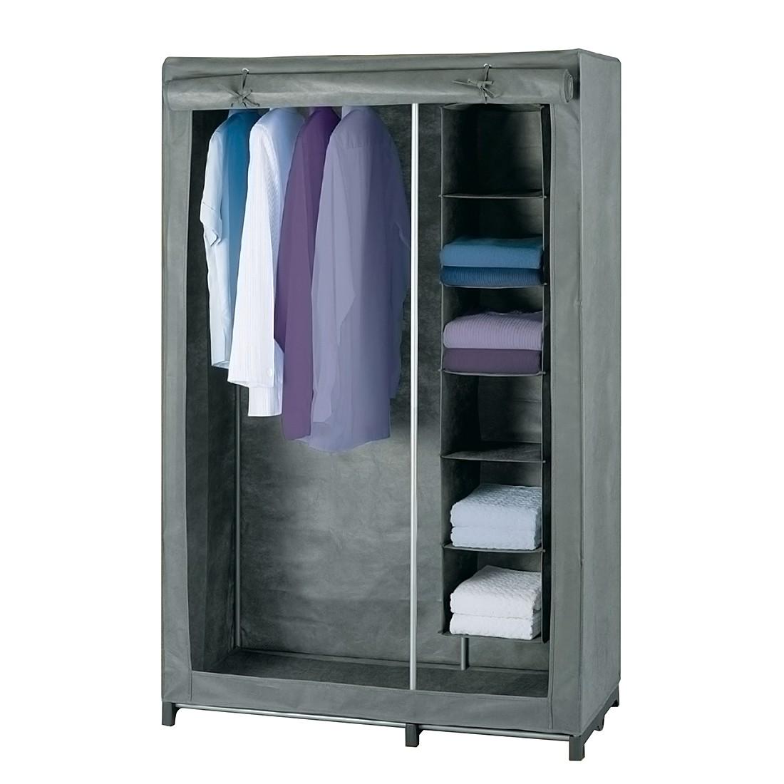 Kleiderschrank mit Wäschesortierer - Grau, Wenko