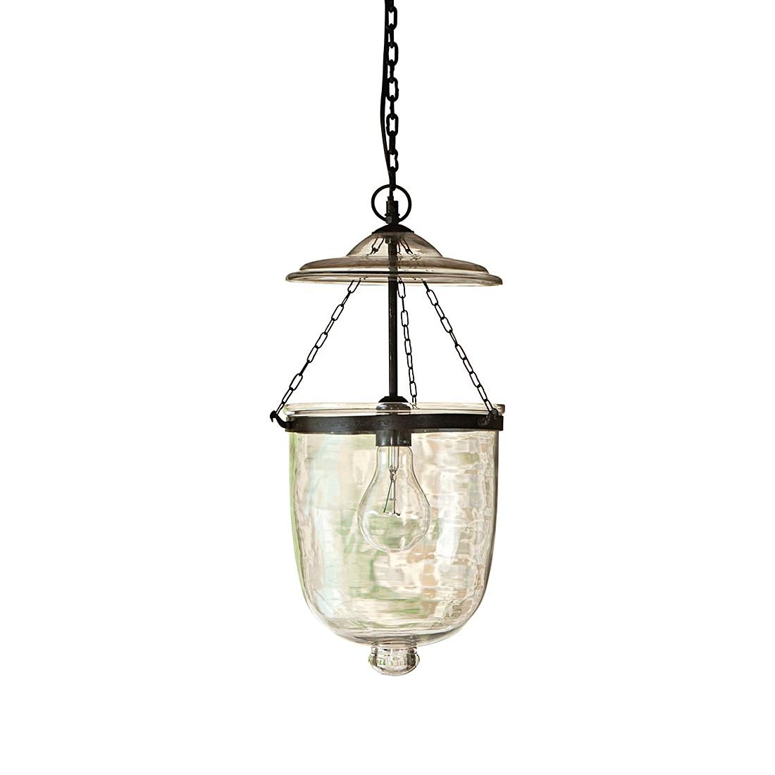 Haengelampe Lanta - Glas-Eisen klar, Loberon
