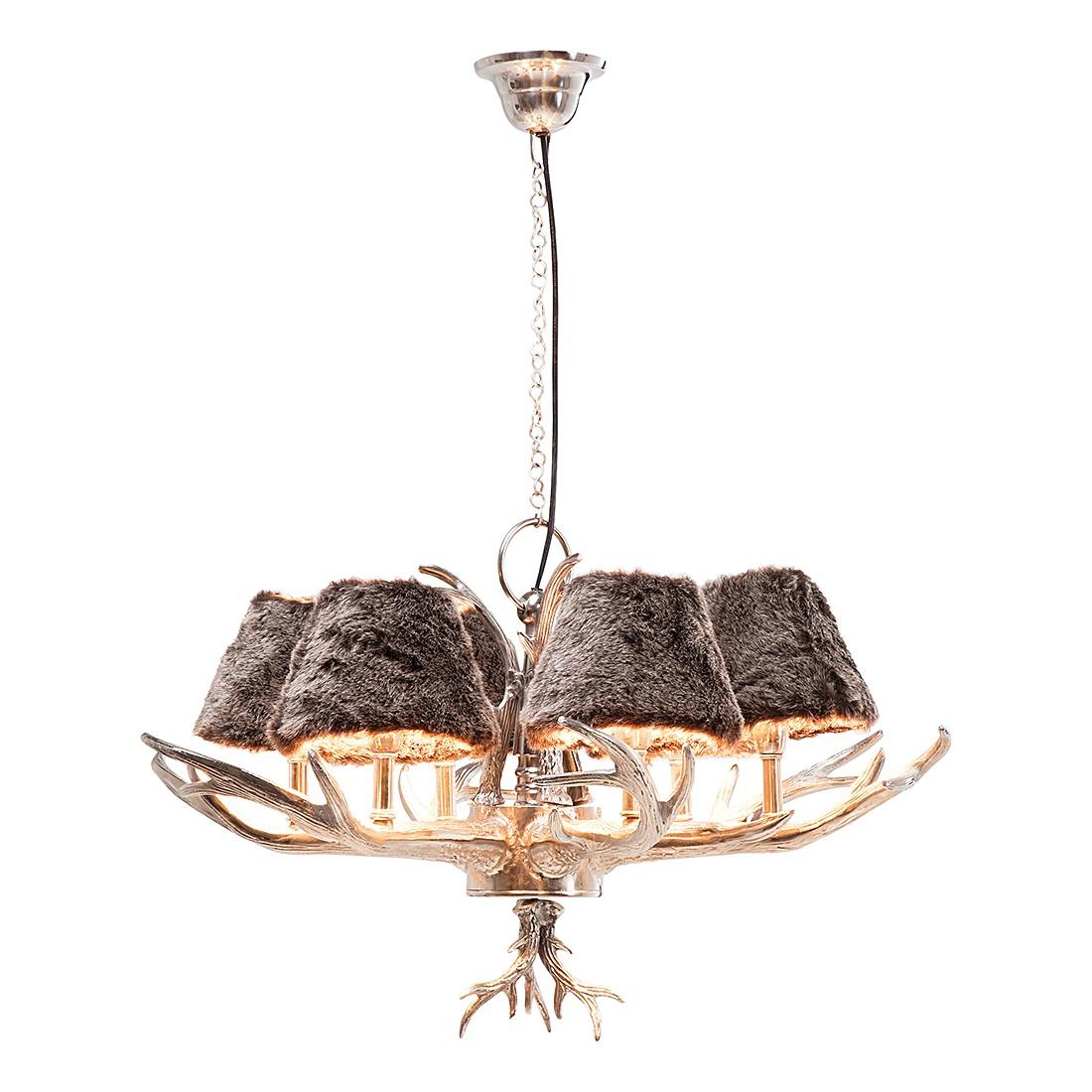h ngeleuchte huntsman grau silber. Black Bedroom Furniture Sets. Home Design Ideas