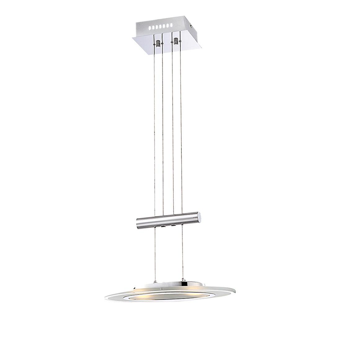 Hängeleuchte NESTOR I – Metall – Silber – 2-flammig, Globo Lighting online kaufen