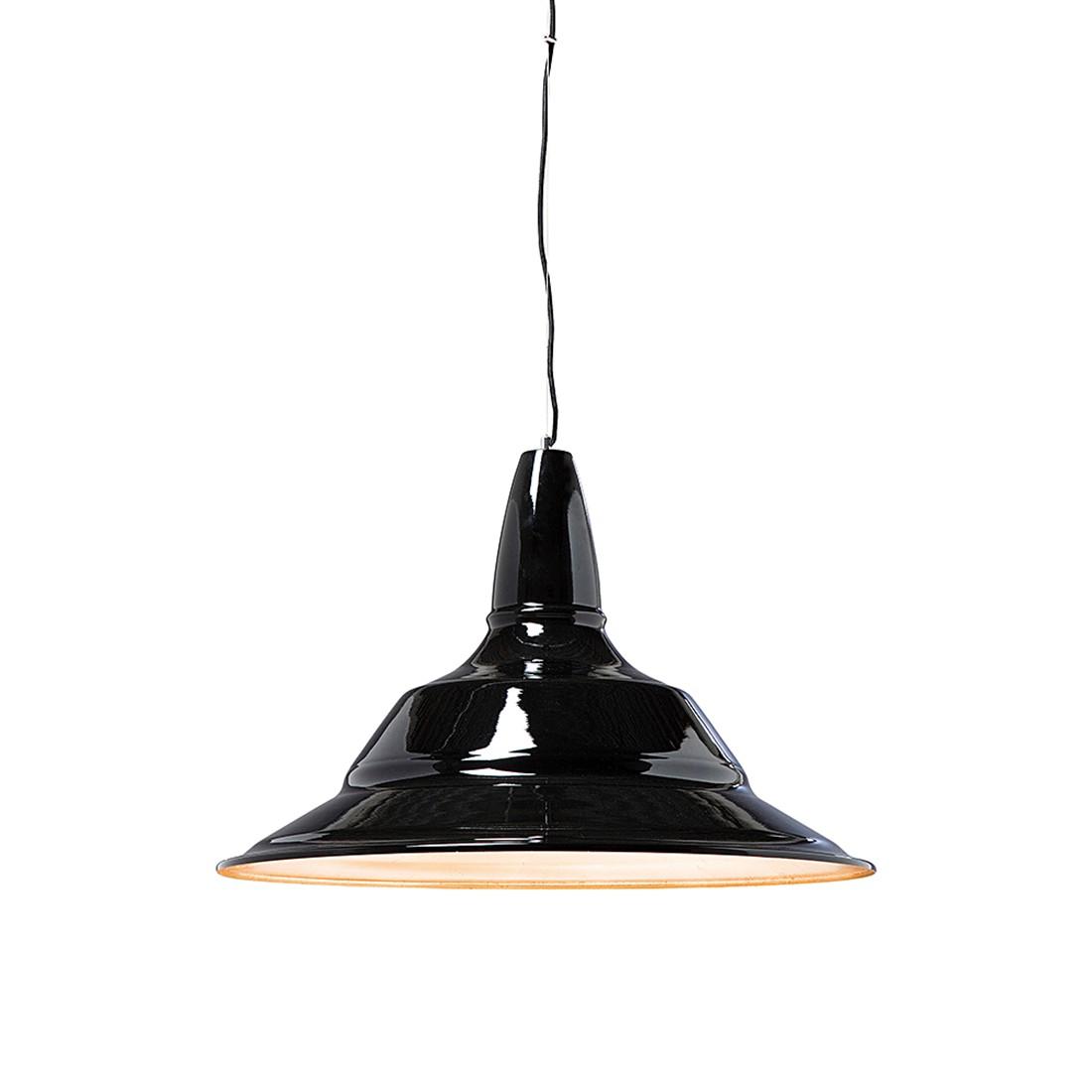 h ngeleuchte plate aluminium schwarz kare design a. Black Bedroom Furniture Sets. Home Design Ideas