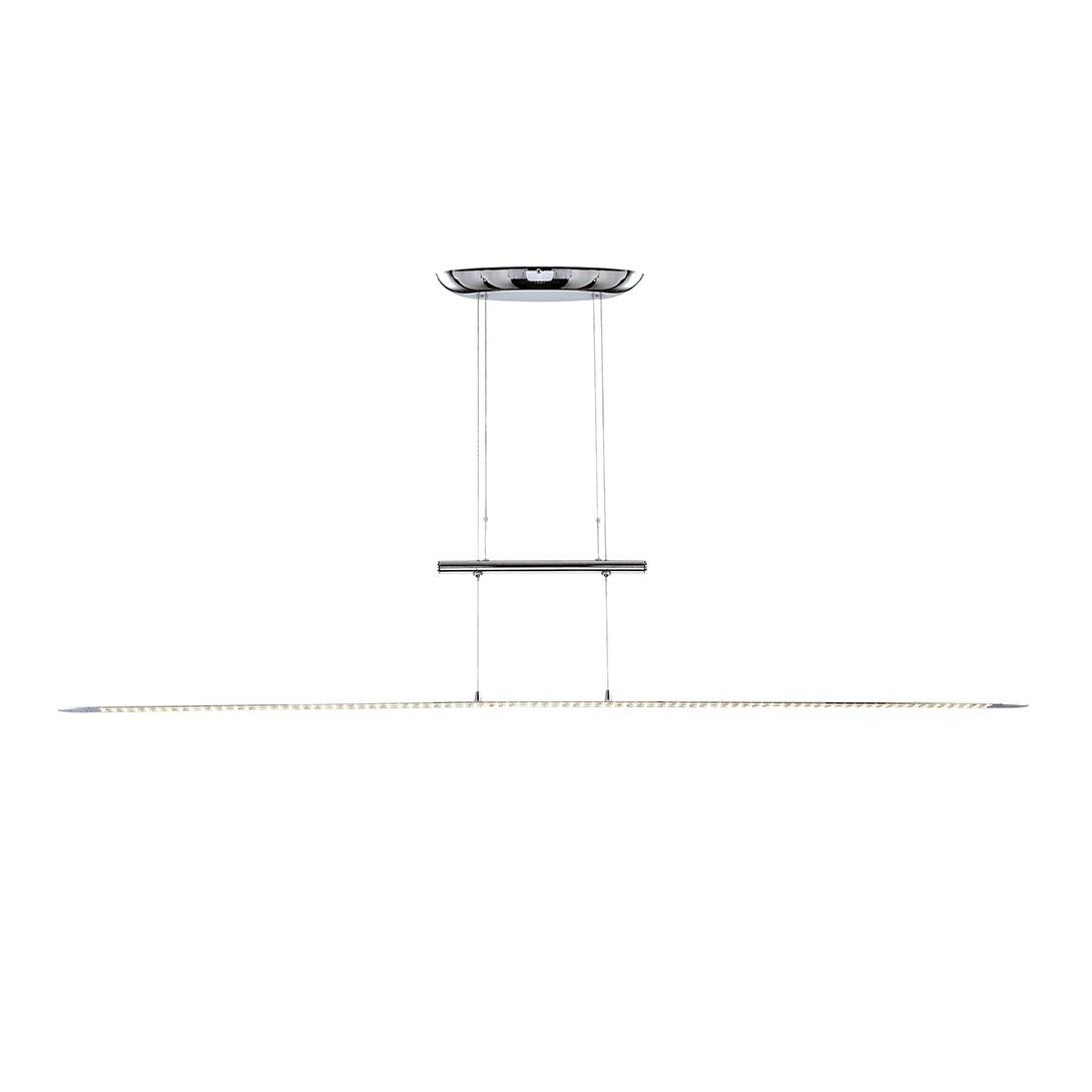 EEK A+, Hängeleuchte TELESTO – Metall – Silber – 1-flammig, Globo Lighting bestellen