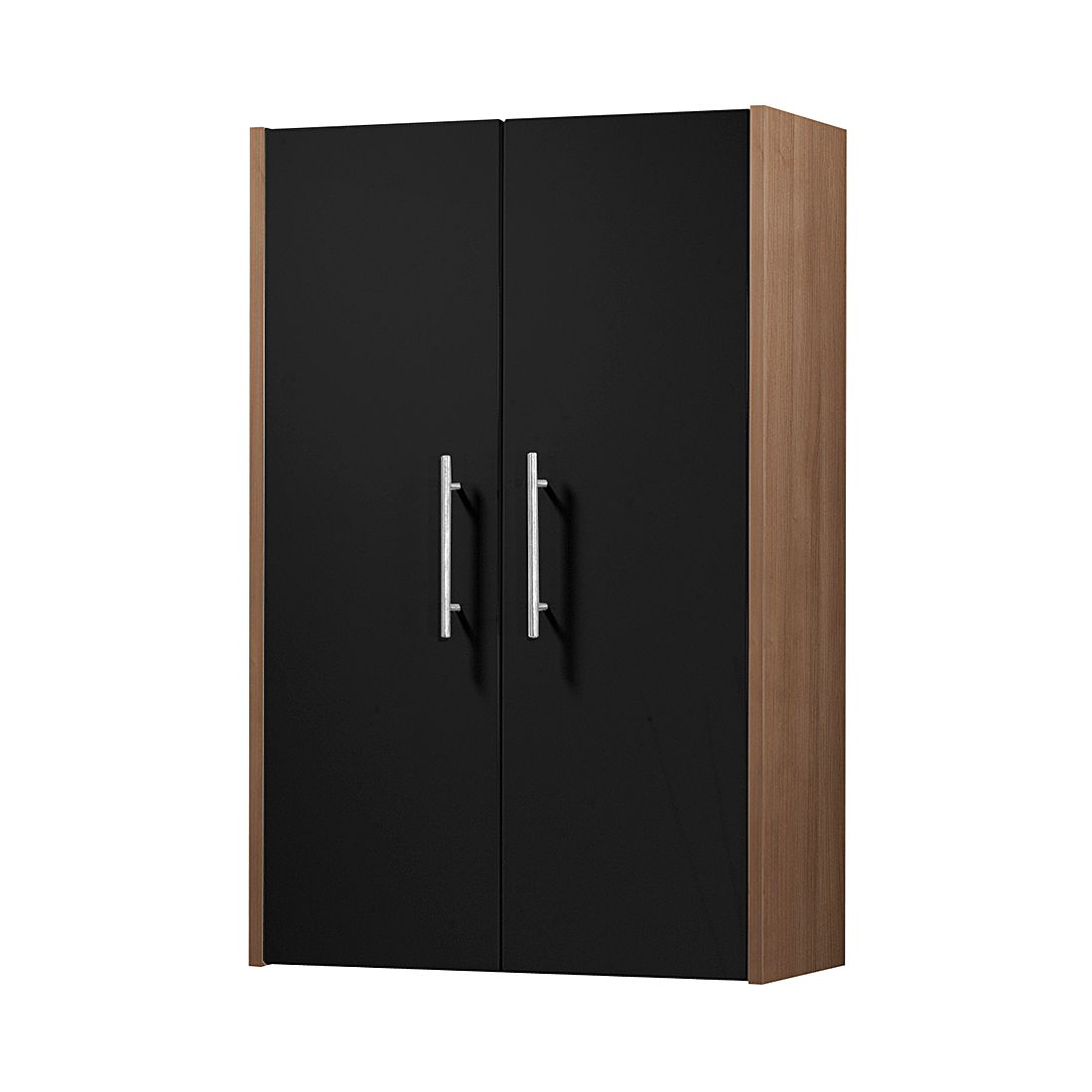 h ngeschrank leon zwetschge dekor schwarz hochglanz fackelmann g nstig online kaufen. Black Bedroom Furniture Sets. Home Design Ideas