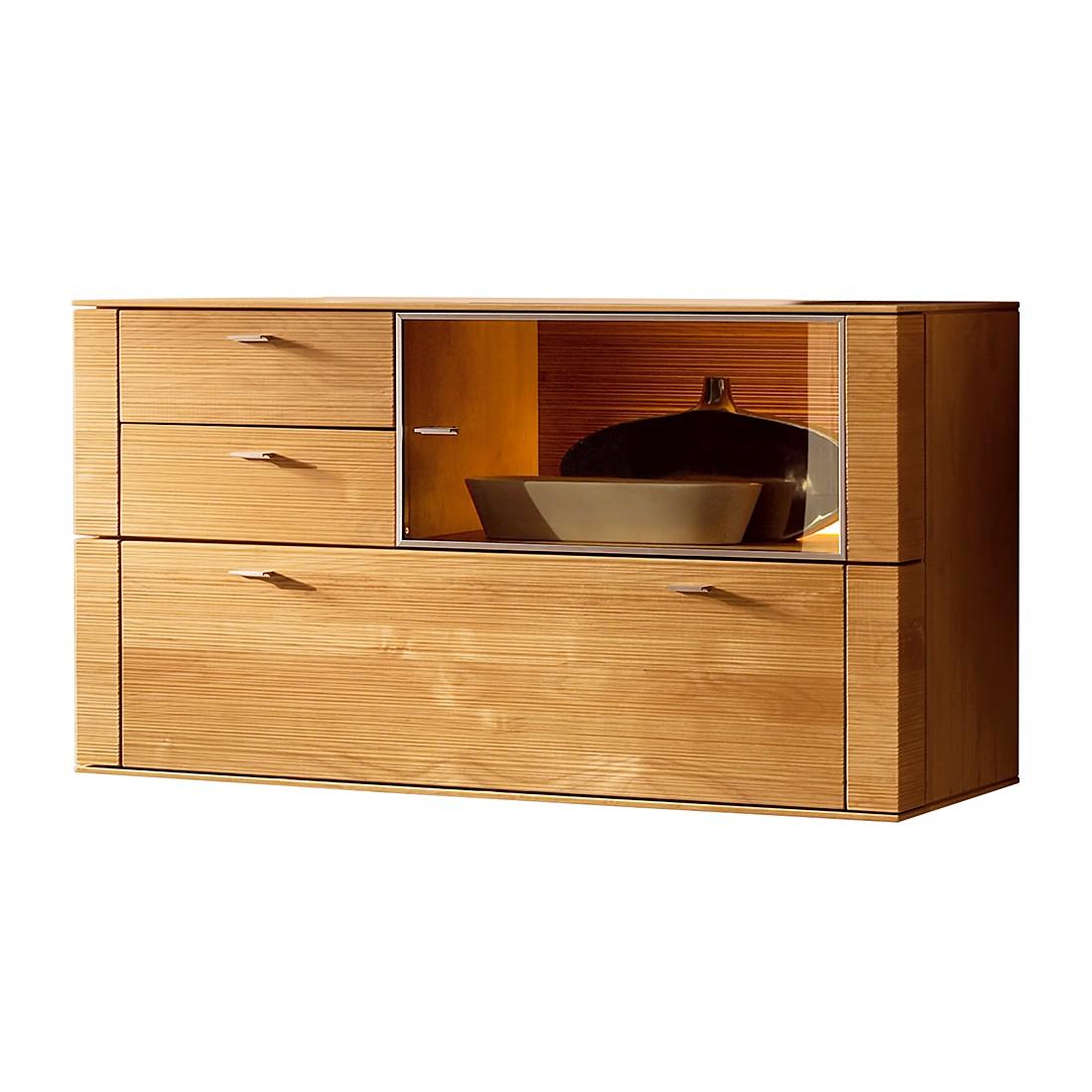 h ngeschrank optima i erle massiv ohne beleuchtung. Black Bedroom Furniture Sets. Home Design Ideas