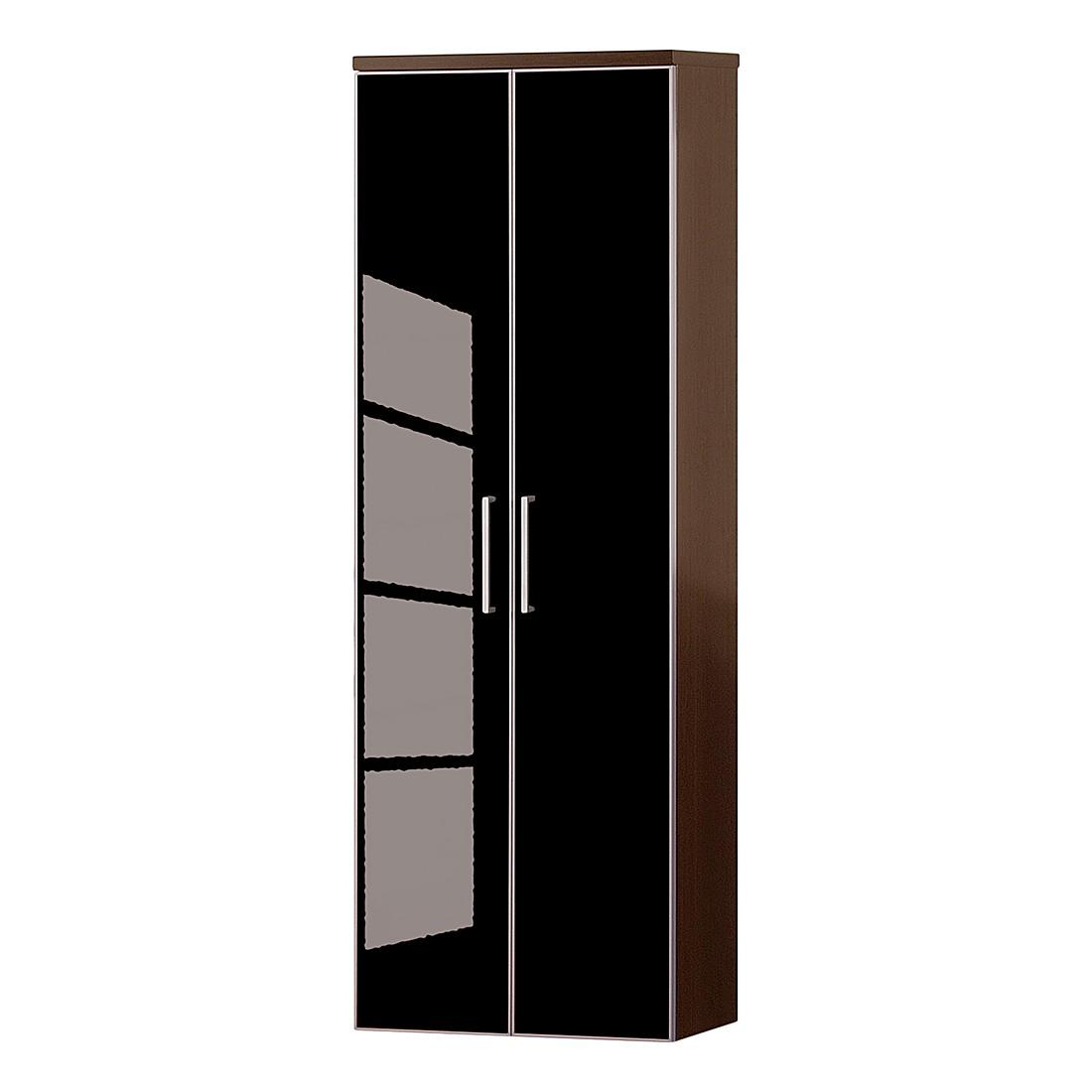 Hängeschrank Sarota II – Wenge/Glas Anthrazit, Voss kaufen