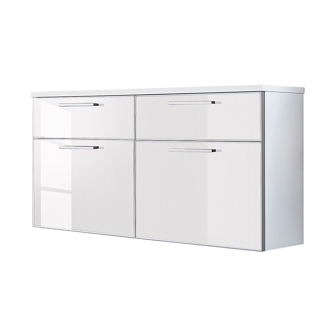 Hängeschuhschrank Sarota IV – Weiß/Glas Weiß, Voss jetzt bestellen