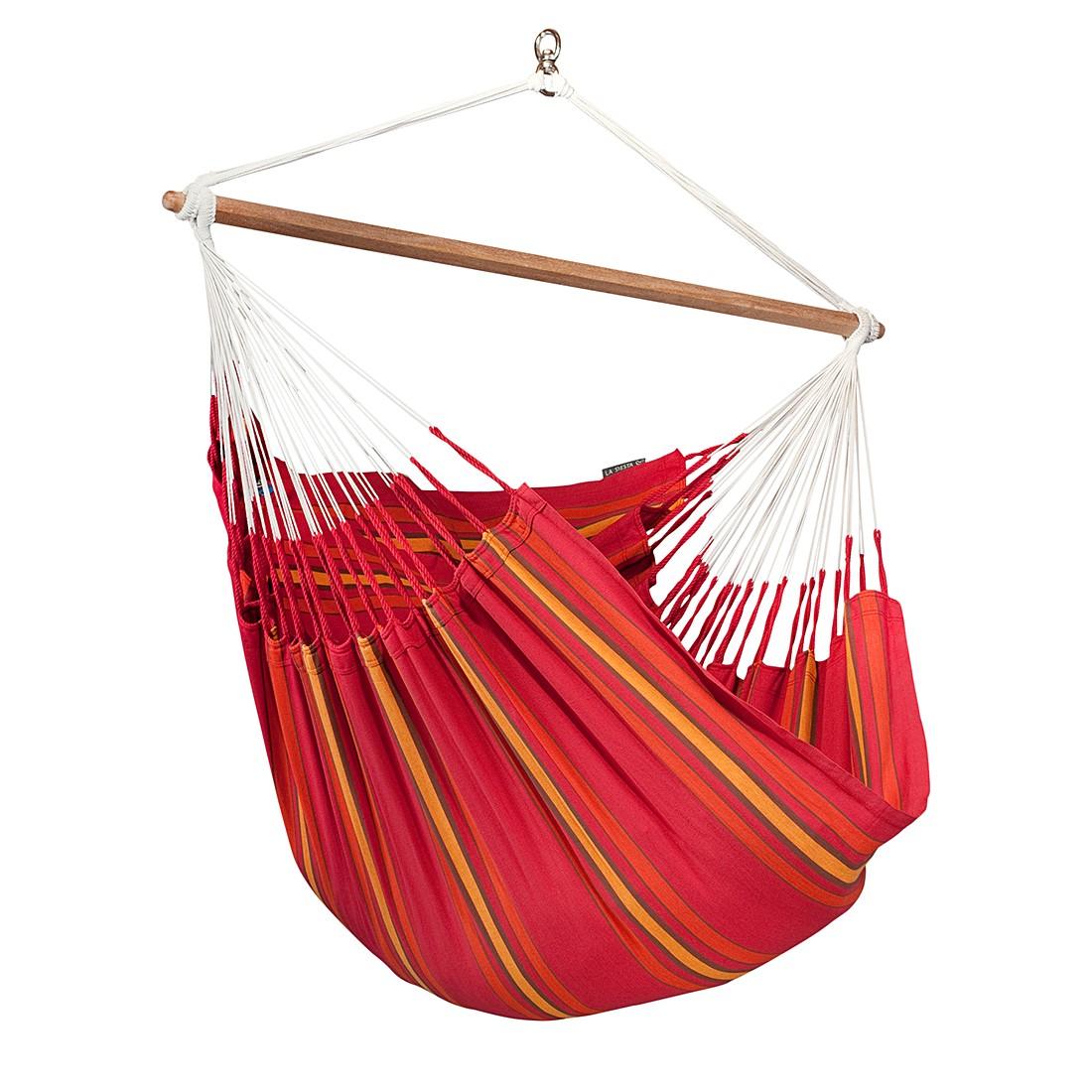 Lounger Currambera – Rot, La Siesta günstig online kaufen