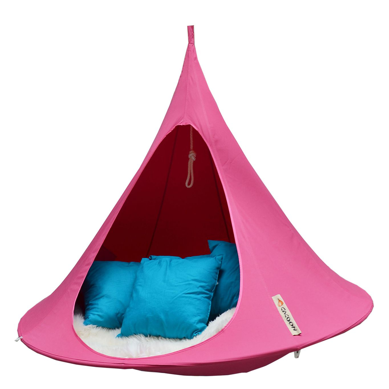 Hängezelt Cacoon Double - Mischgewebe - Fuchsia, Hang in out