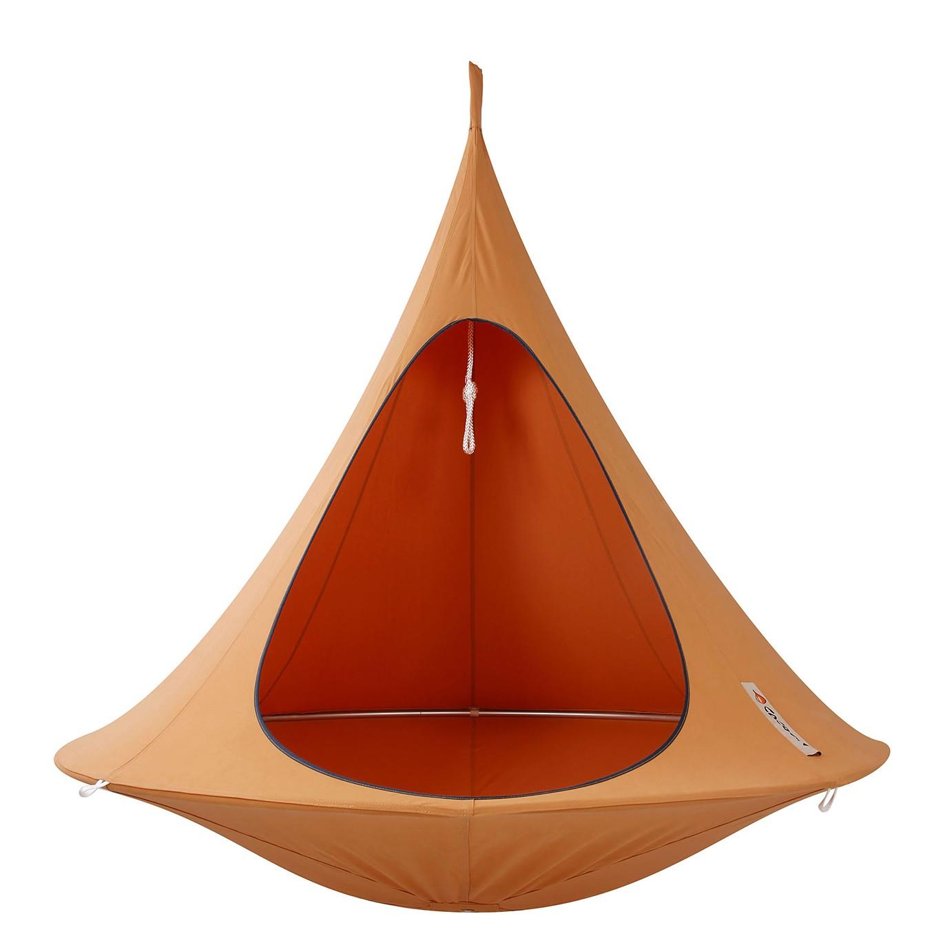 Hängezelt Cacoon Double – Mischgewebe – Mango/Orange, Hang in out günstig