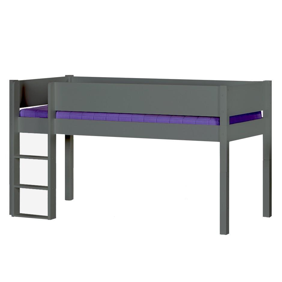 lit sur lev nathalie lit mezzanine enfant en bois massif. Black Bedroom Furniture Sets. Home Design Ideas