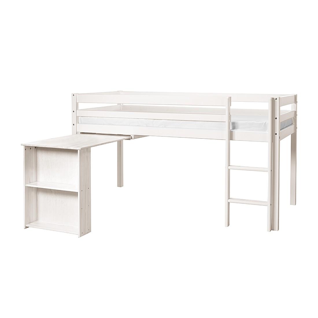 halbhochbett mit schreibtisch halbhochbett charly mit schreibtisch kaufen halbhochbett moby. Black Bedroom Furniture Sets. Home Design Ideas