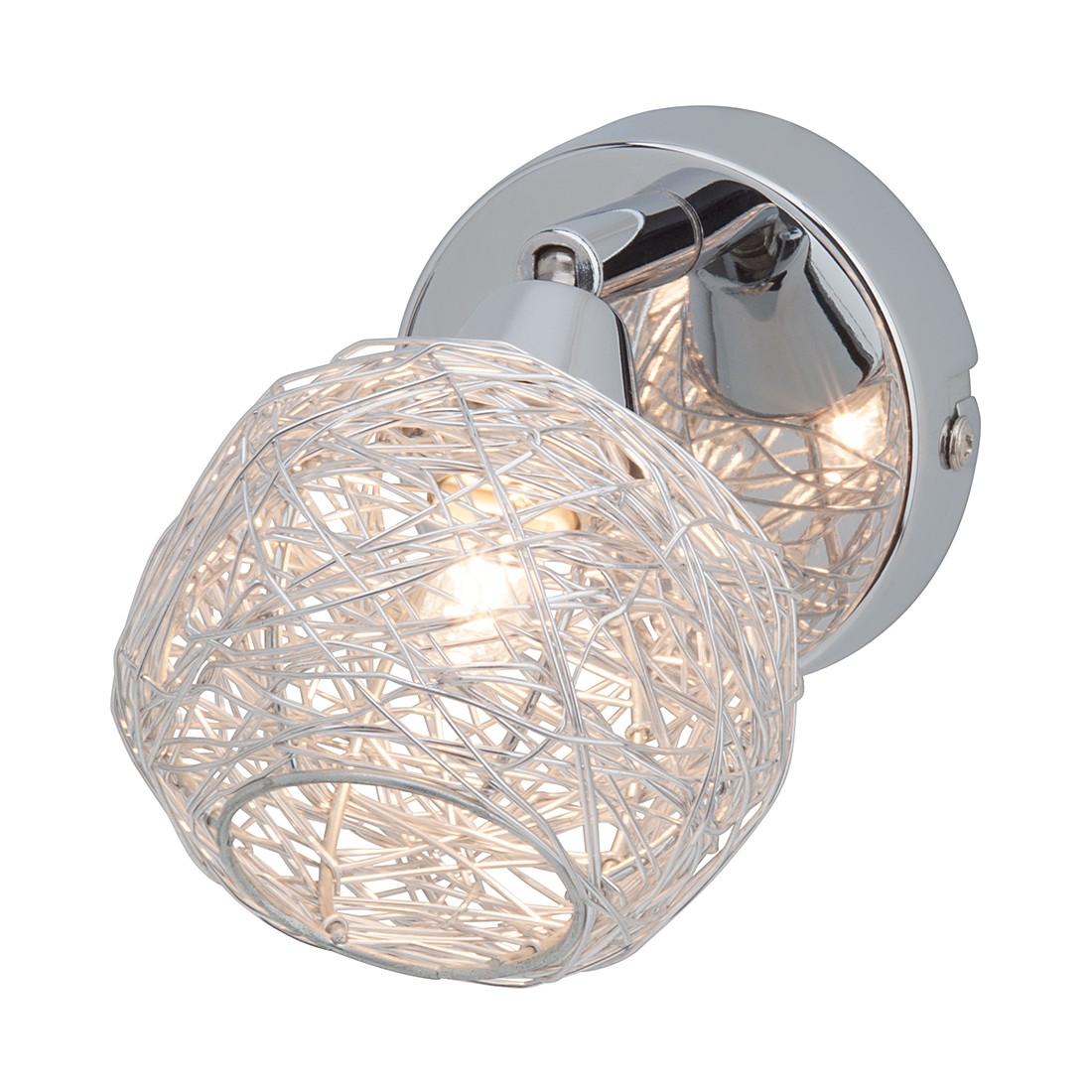 EEK A++, Wandleuchte Sally- Aluminium/Metall/Aluminium – Weiß – 1-flammig, Brilliant jetzt kaufen