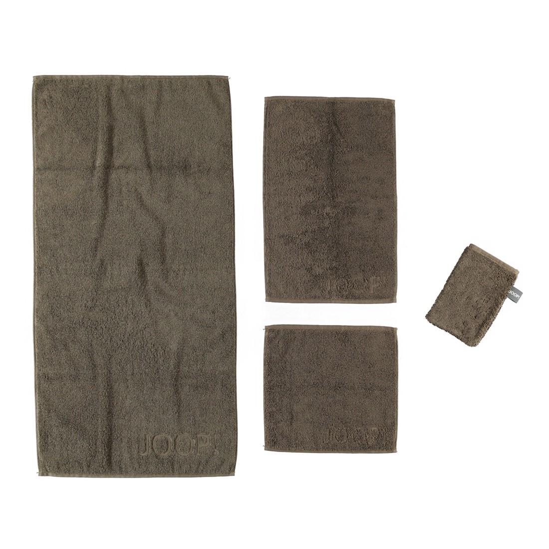 Handtuch Basic – 100% Baumwolle Mocca- Braun – 365 – Duschtuch: 80 x 150 cm, Joop günstig