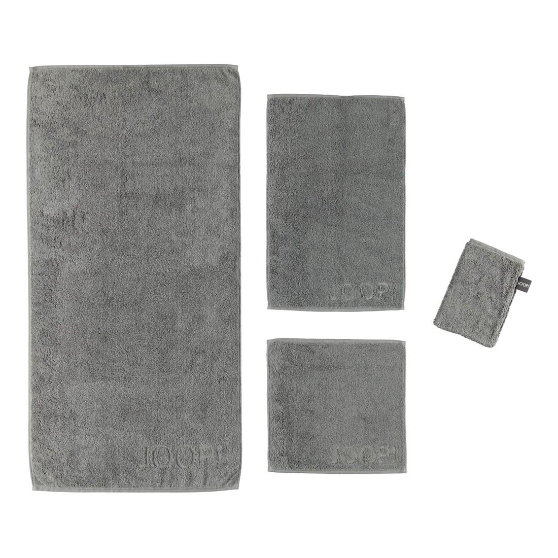 Handtuch Basic – 100% Baumwolle schieferGrau – 766 – Saunatuch: 80 x 200 cm, Joop günstig