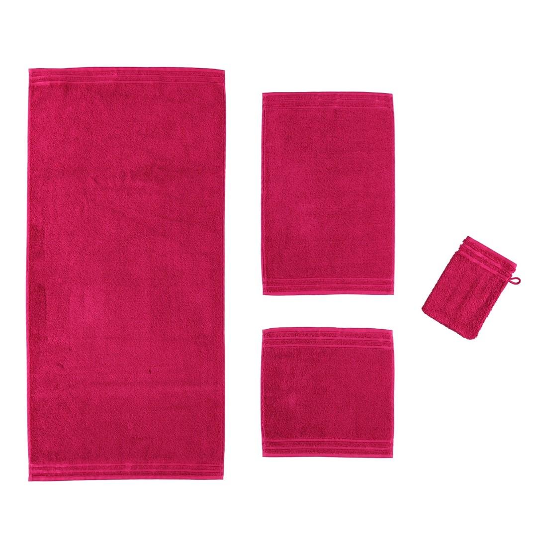 Handtuch Calypso Feeling – 100% Baumwolle cranberry – 377 – Saunatuch: 80 x 200 cm, Vossen jetzt kaufen