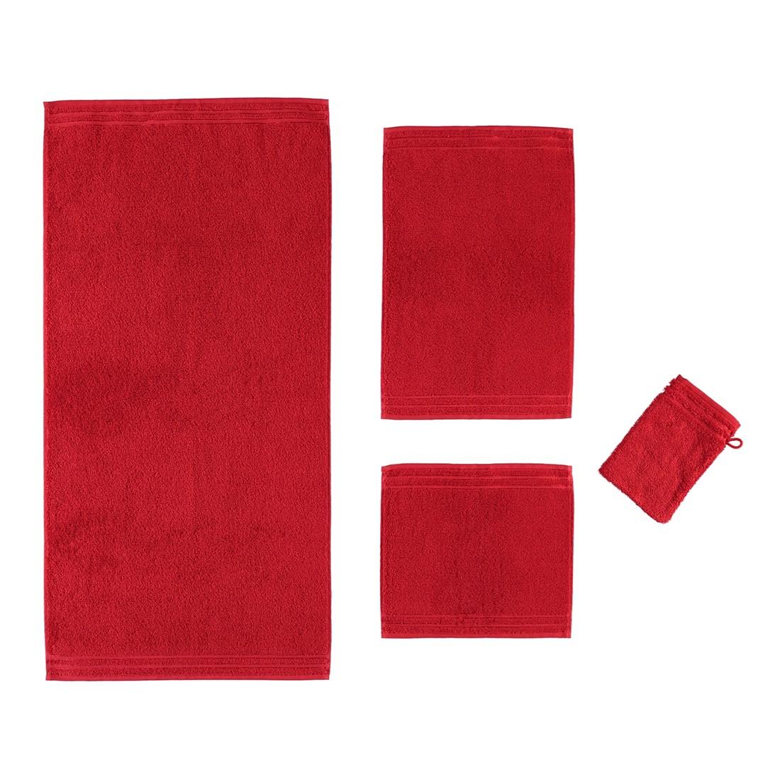 Handtuch Calypso Feeling – 100% Baumwolle Purpur – 3705 – Handtuch: 50 x 100 cm, Vossen günstig bestellen
