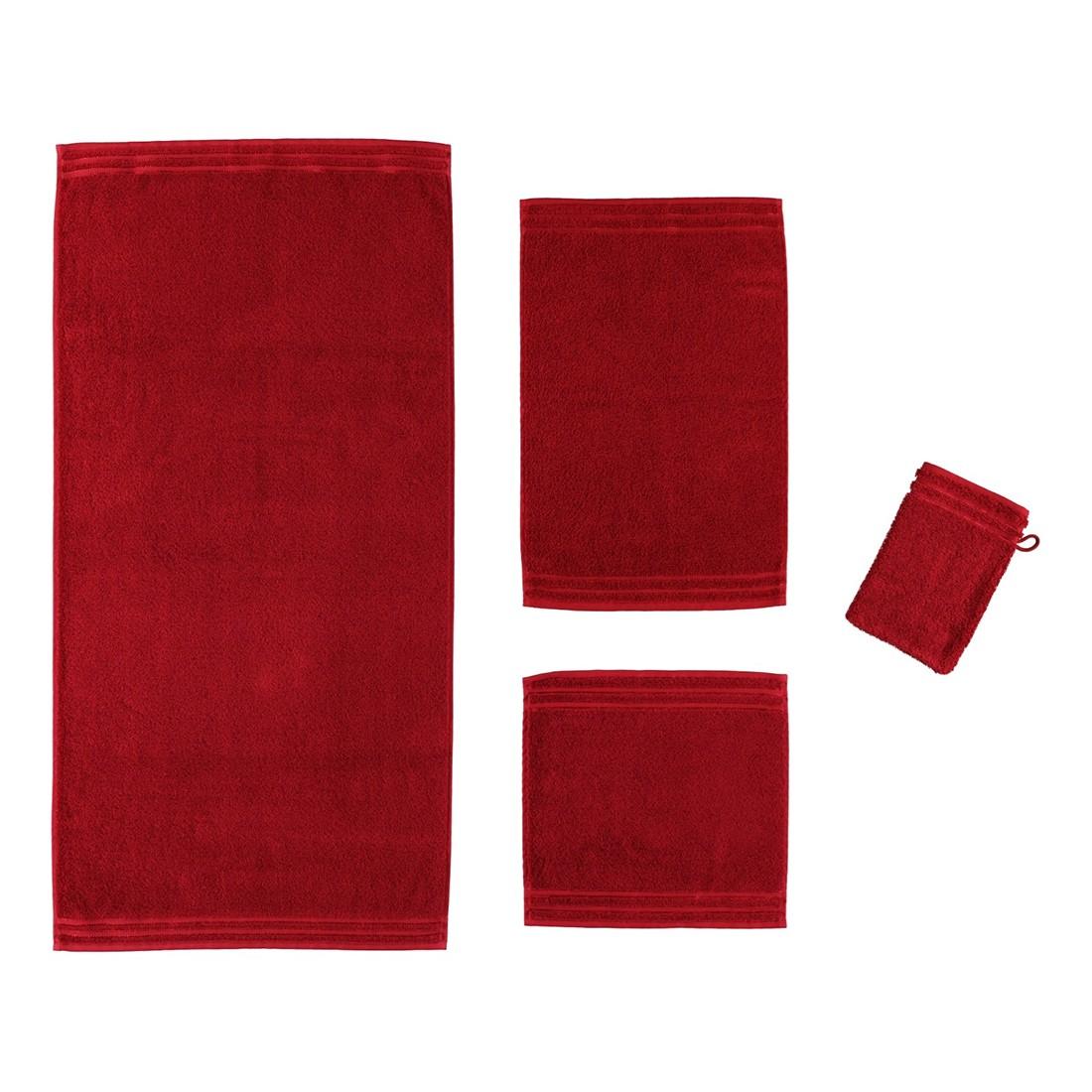 Handtuch Calypso Feeling – 100% Baumwolle rubin – 390 – Duschtuch: 67×140 cm, Vossen günstig bestellen