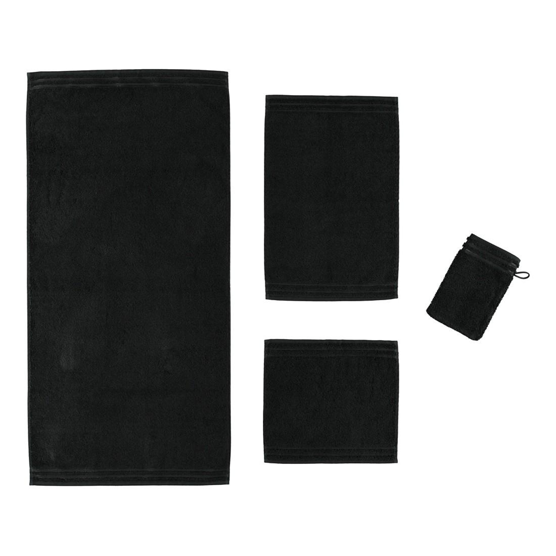 Handtuch Calypso Feeling – 100% Baumwolle Schwarz – 790 – Gästetuch: 30 x 50 cm, Vossen kaufen