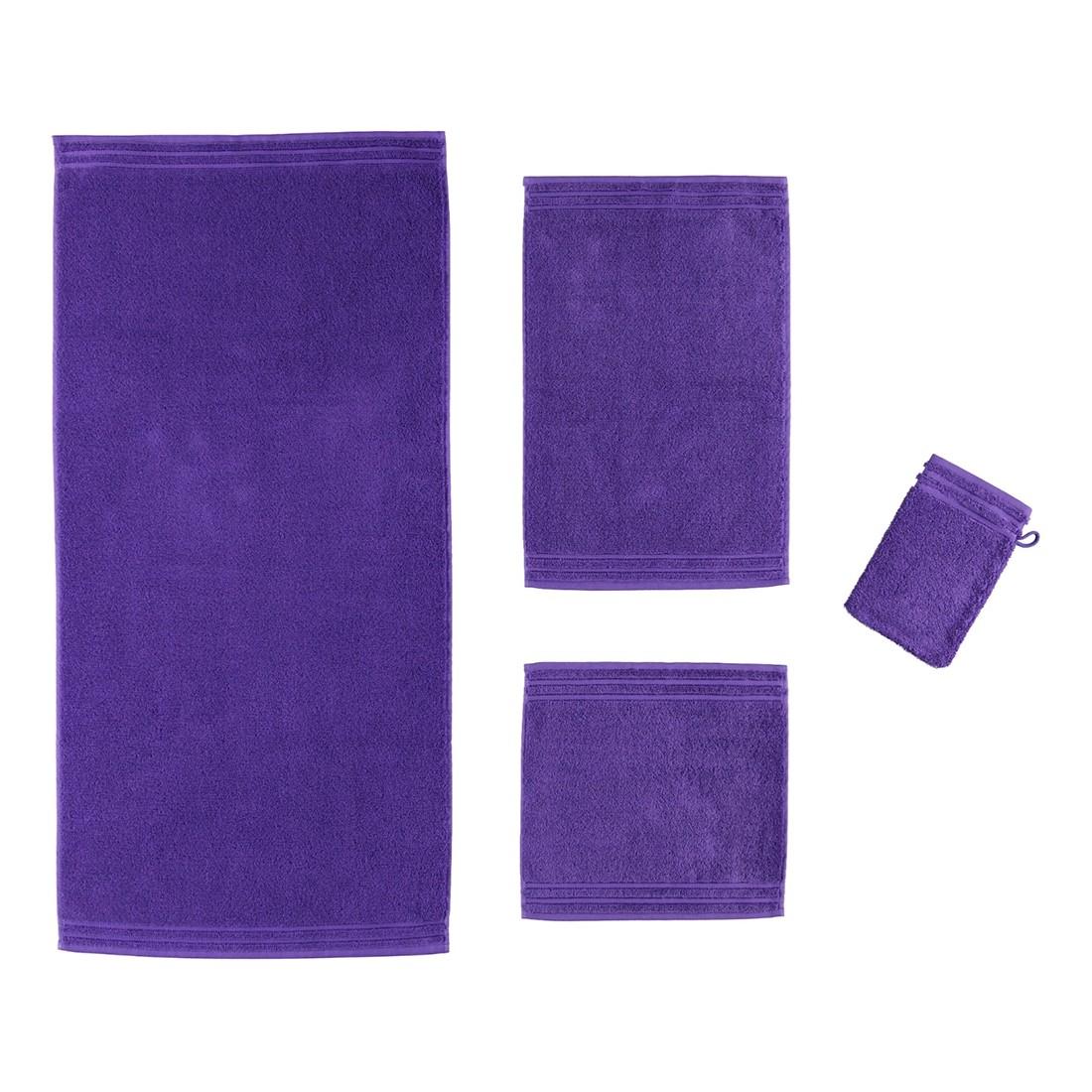 Handtuch Calypso Feeling – 100% Baumwolle Violett – 857 – Duschtuch: 67×140 cm, Vossen jetzt bestellen