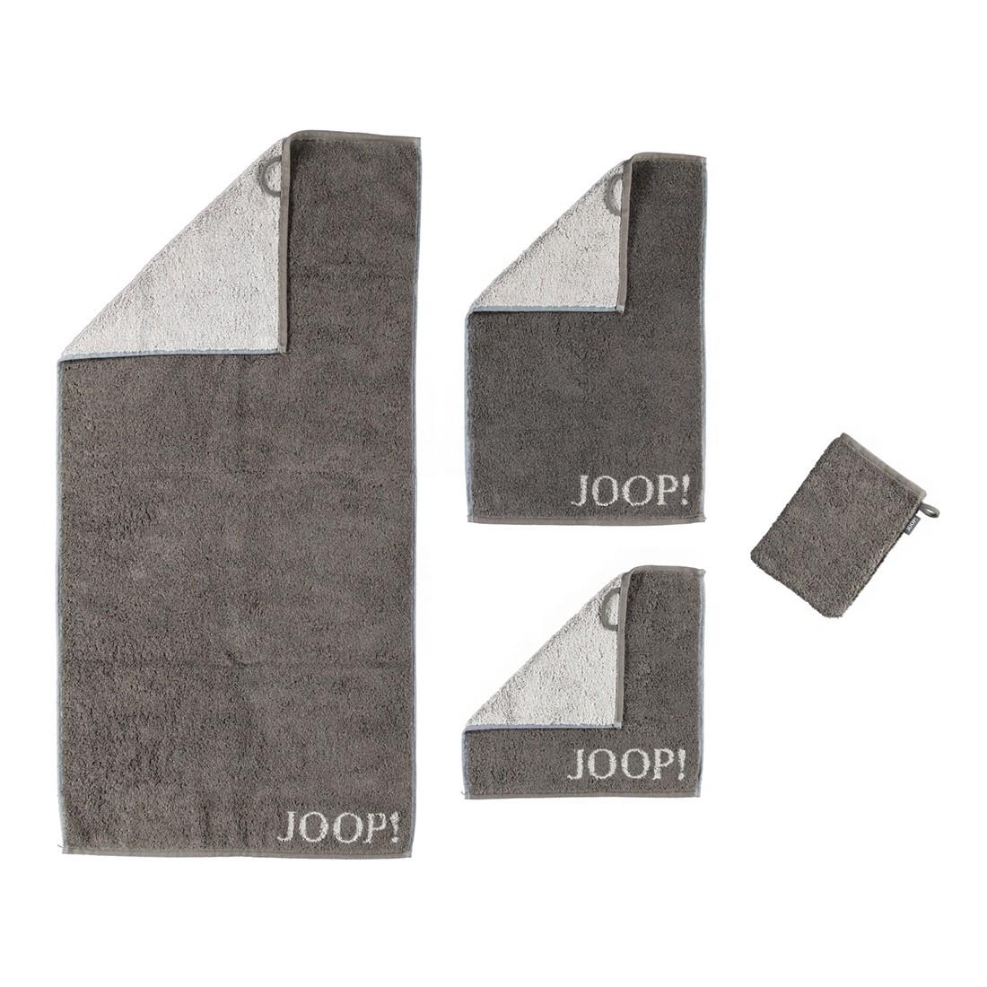 Handtuch Classic Doubleface – 100% Baumwolle Mokka – 33 – Handtuch: 50 x 100 cm, Joop jetzt bestellen