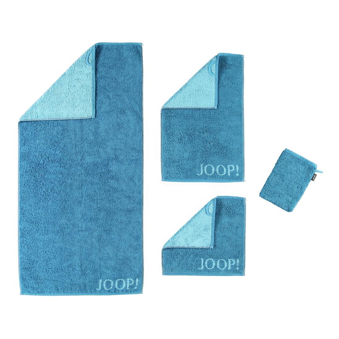 Handtuch Classic Doubleface – 100% Baumwolle Petrol – 44 – Seiflappen: 30 x 30 cm, Joop kaufen