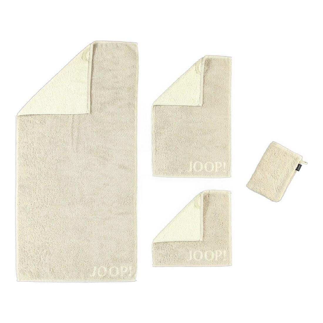 Handtuch Classic Doubleface – 100% Baumwolle Sand – 30 – Waschhandschuh: 16 x 22 cm, Joop günstig online kaufen
