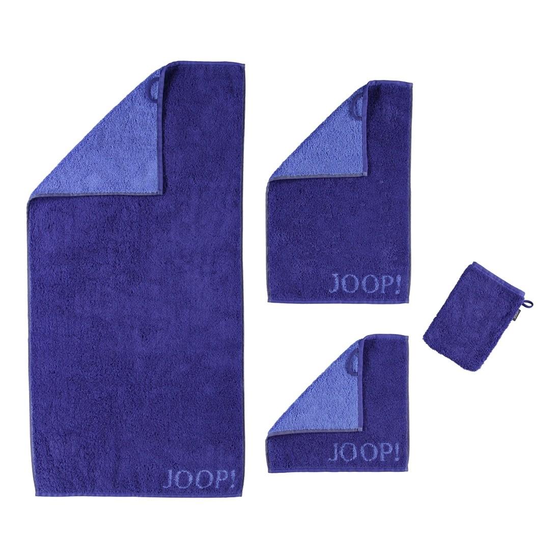 Handtuch Classic Doubleface – 100% Baumwolle StahlBlau – 10 – Duschtuch: 80 x 150 cm, Joop online bestellen
