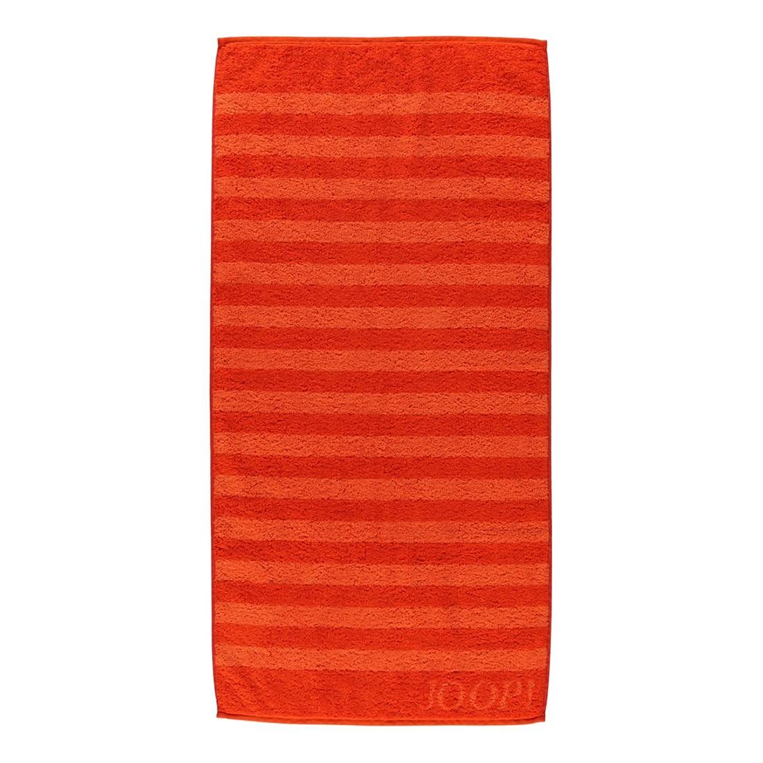 Handtuch Classic Stripes – 100% Baumwolle papaya – 23 – Saunatuch: 80 x 200 cm, Joop jetzt kaufen