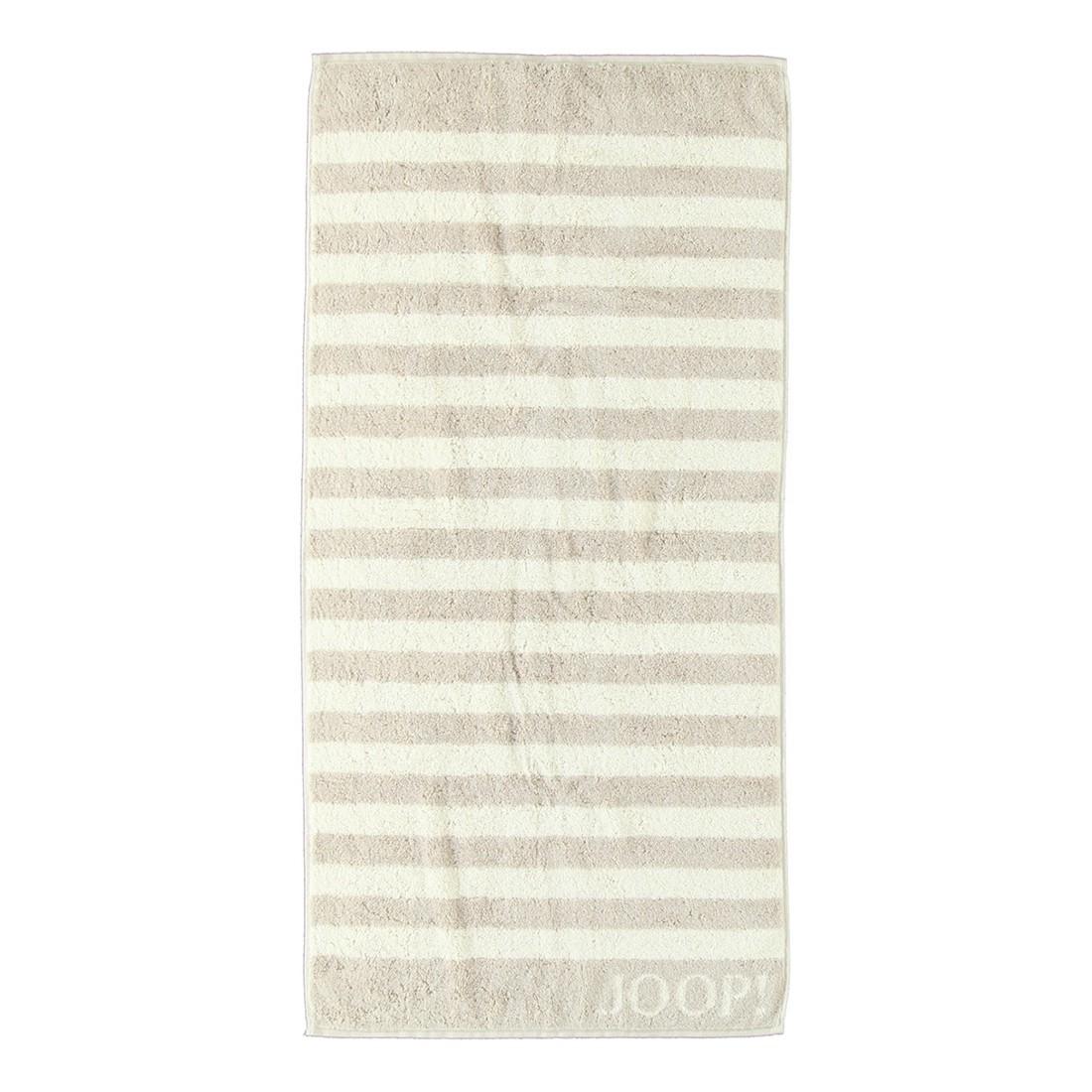 Handtuch Classic Stripes – 100% Baumwolle Sand – 30 – Saunatuch: 80 x 200 cm, Joop jetzt kaufen