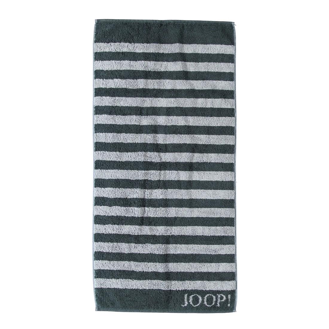 Handtuch Classic Stripes – 100% Baumwolle Schwarz – 97 – Duschtuch: 80 x 150 cm, Joop günstig kaufen