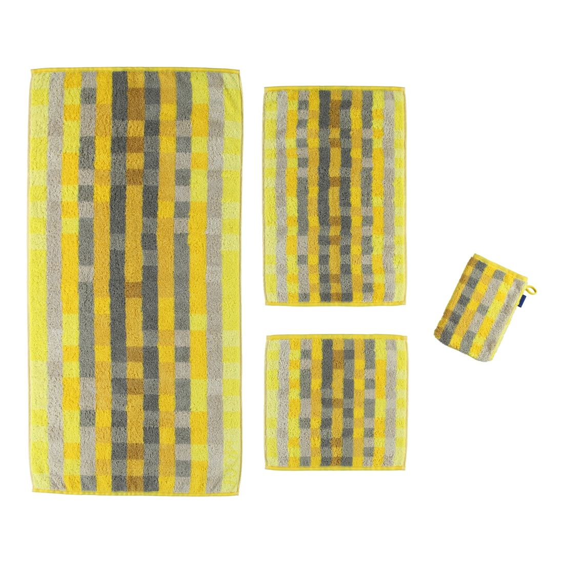 Handtuch Colour Code Pixel – 100% Baumwolle Honig – Seiflappen: 30 x 30 cm, Joop günstig kaufen