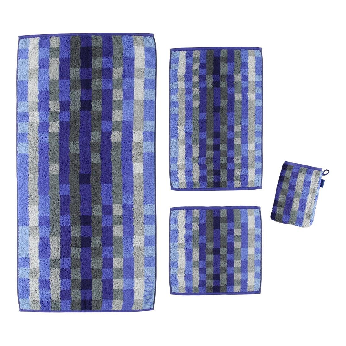 handtuch colour code pixel 100 baumwolle stahlblau 11. Black Bedroom Furniture Sets. Home Design Ideas