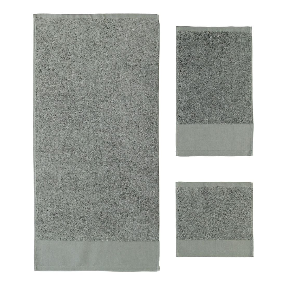 Handtuch Comtesse – 100% Baumwolle kiesel – 85 – Duschtuch: 70 x 130 cm, Rhomtuft günstig kaufen