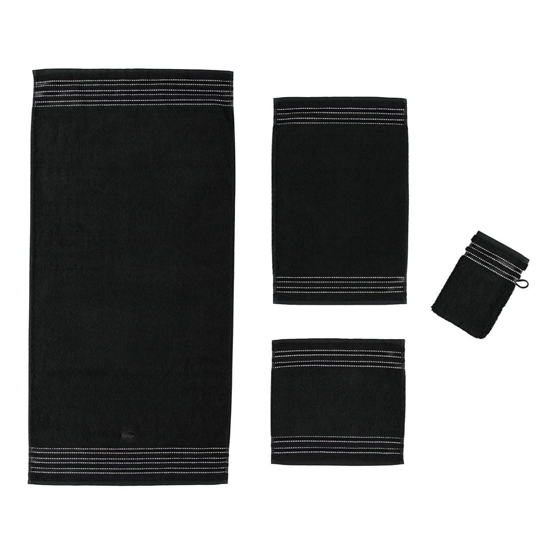 Handtuch Cult de Luxe – 100% Baumwolle Schwarz – 790 – Badetuch: 100 x 150 cm, Vossen online kaufen