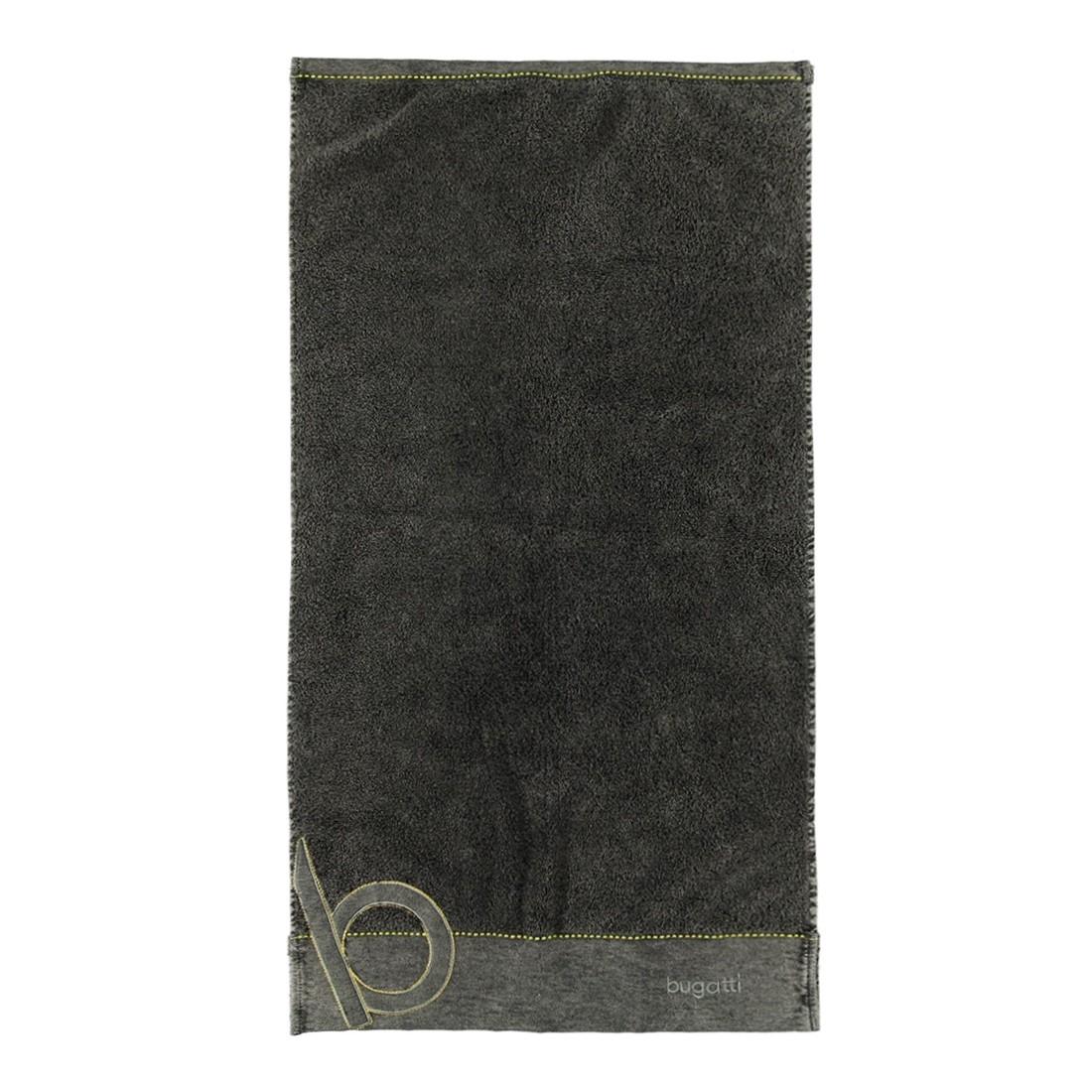 Handtuch Denim – 100% Baumwolle – Braun/Grau – Handtuch: 50 x 100 cm, Bugatti jetzt bestellen