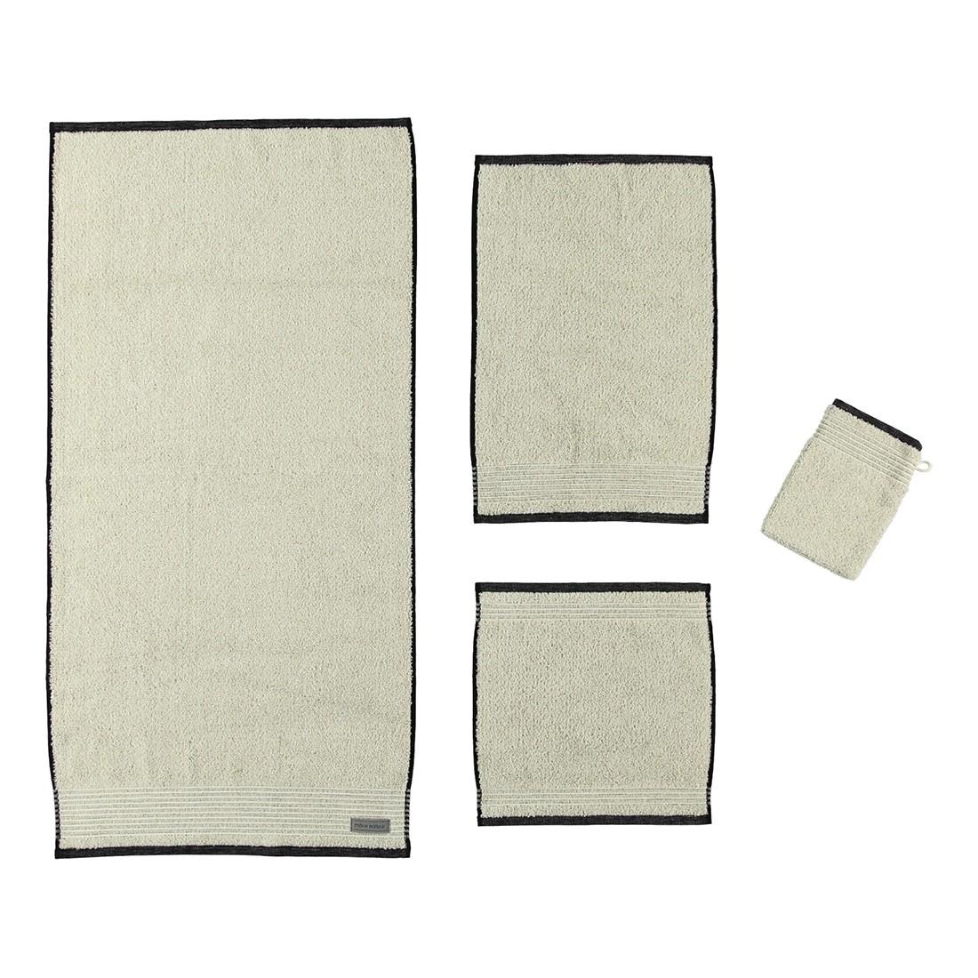 Handtuch Eden – 80% Baumwolle, 20% Leinen Natur – 081 – Seiflappen: 30 x 30 cm, Möve online bestellen