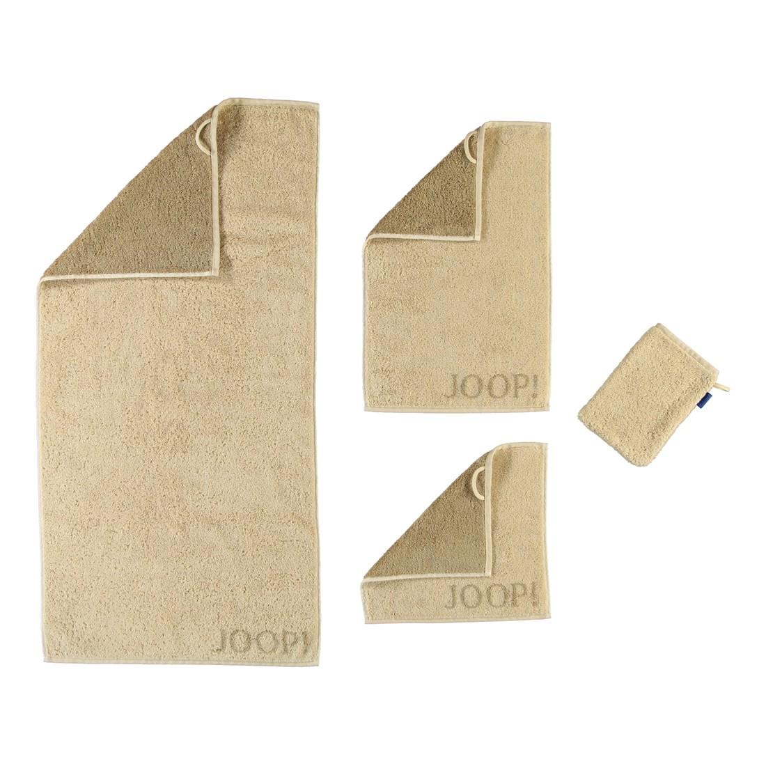 Handtuch Elegance Doubleface – 100% Baumwolle travertin – 37 – Saunatuch: 80 x 200 cm, Joop kaufen
