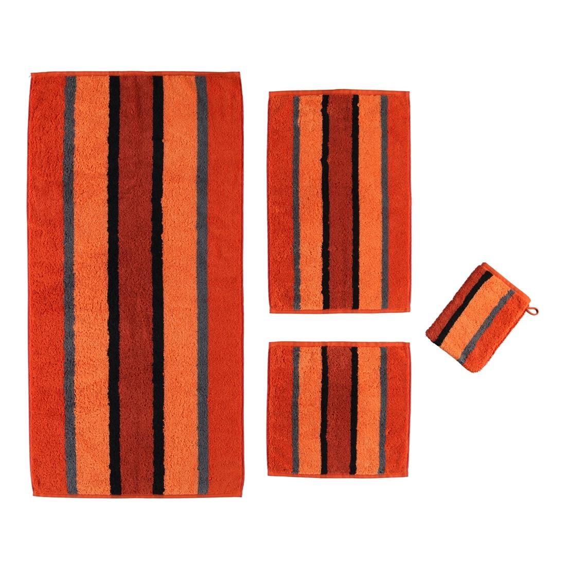 Handtuch Karat – 100% Baumwolle carneol – 30 – Duschtuch: 70 x 140 cm, Cawö jetzt bestellen