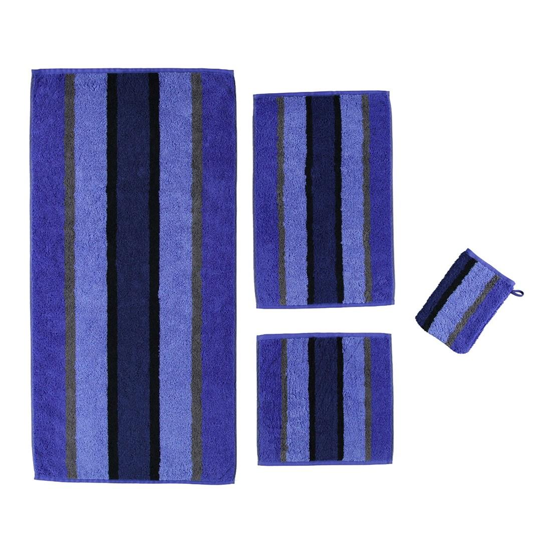 Handtuch Karat – 100% Baumwolle saphir-Blau – 11 – Seiflappen: 30 x 30 cm, Cawö kaufen