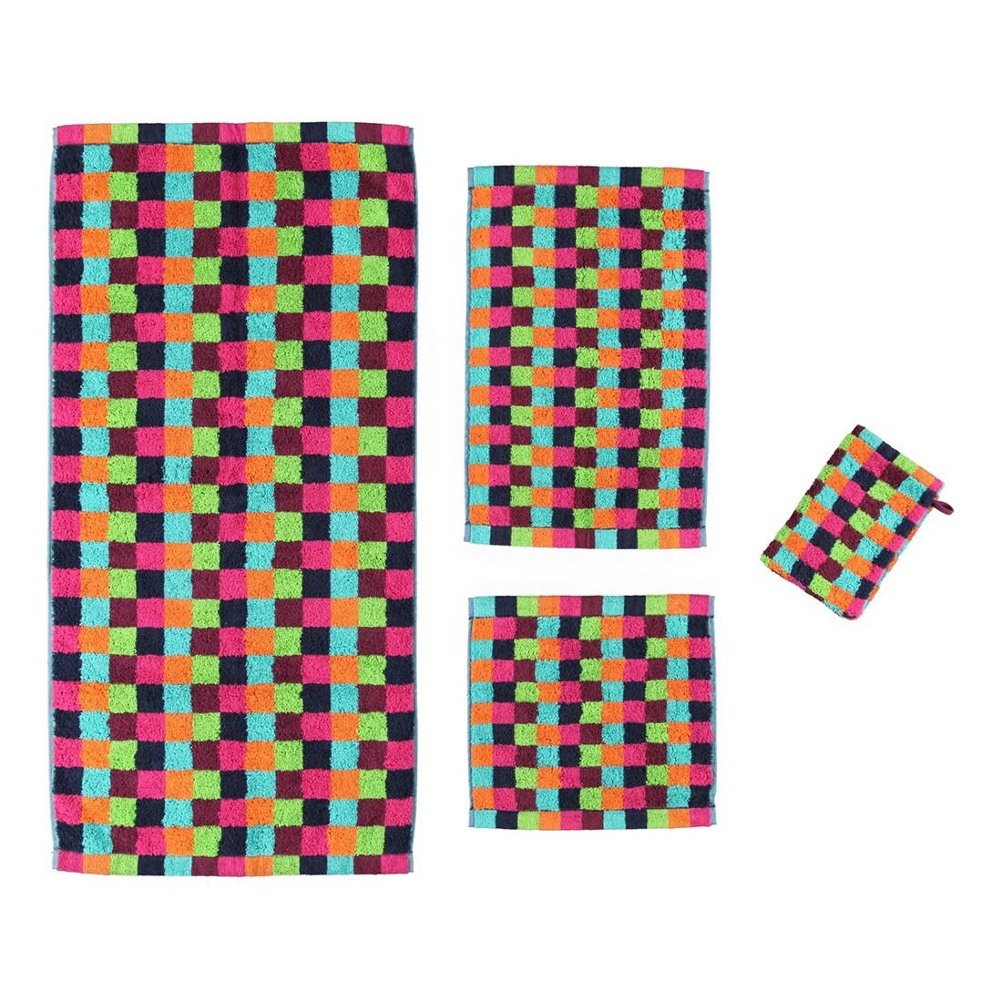 Handtuch Life Style Karo – 100% Baumwolle multicolor – 84 – Saunatuch: 70 x 180 cm, Cawö kaufen