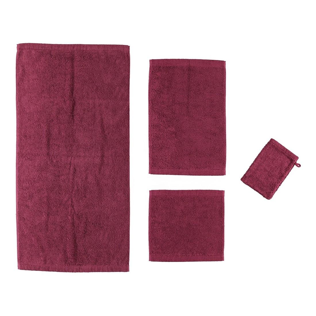 Handtuch Life Style Uni 7007 – 100% Baumwolle Beere – 815 – Gästetuch: 30 x 50 cm, Cawö kaufen