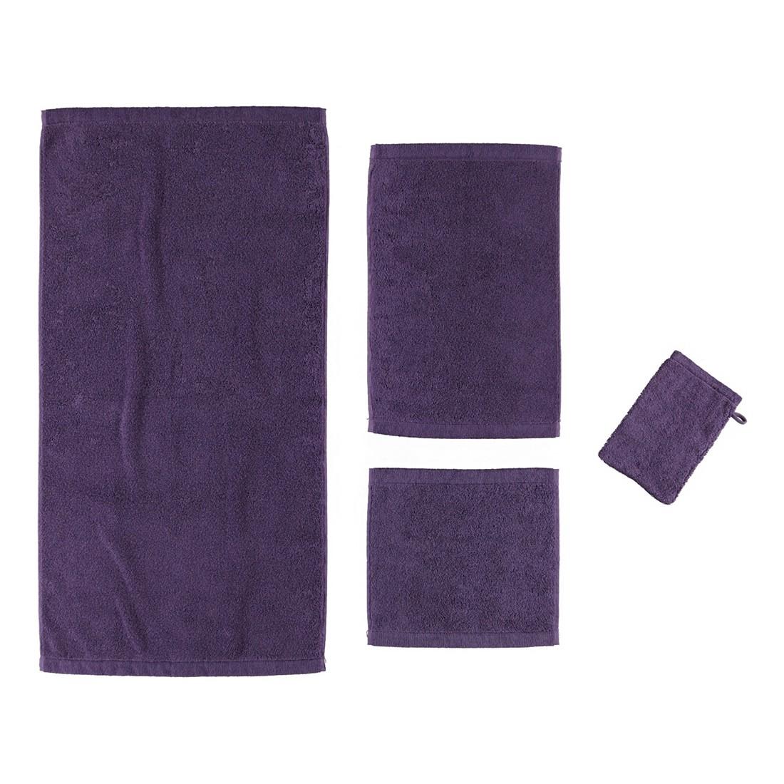 Handtuch Life Style Uni 7007 – 100% Baumwolle lila – 808 – Duschtuch: 70 x 140 cm, Cawö kaufen