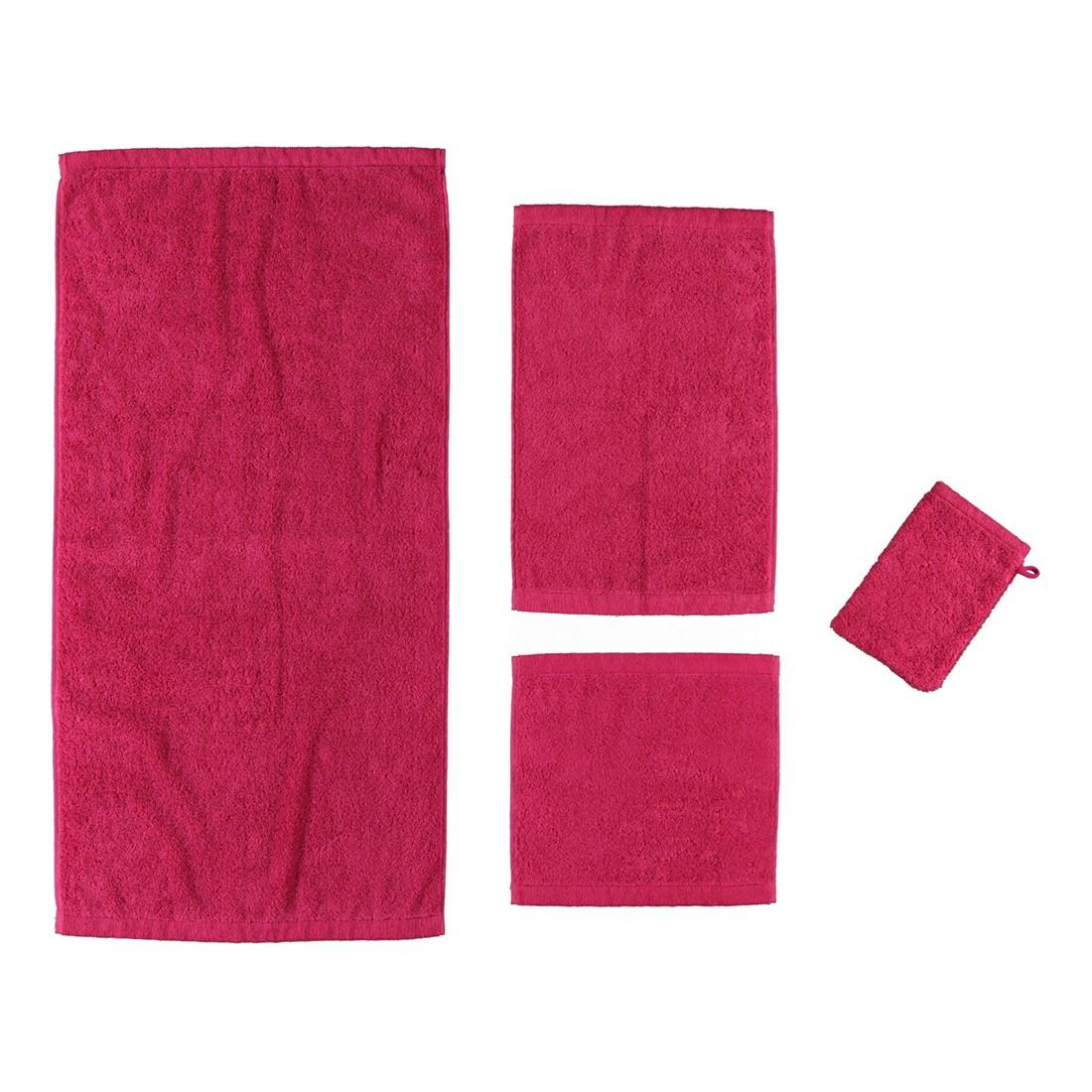 Handtuch Life Style Uni 7007 – 100% Baumwolle Pink – 247 – Duschtuch: 70 x 140 cm, Cawö günstig online kaufen