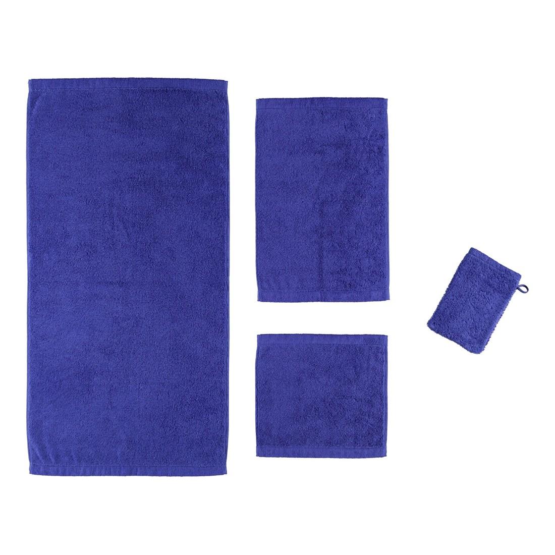 Handtuch Life Style Uni 7007 – 100% Baumwolle Saphir – 197 – Gästetuch: 30 x 50 cm, Cawö günstig kaufen