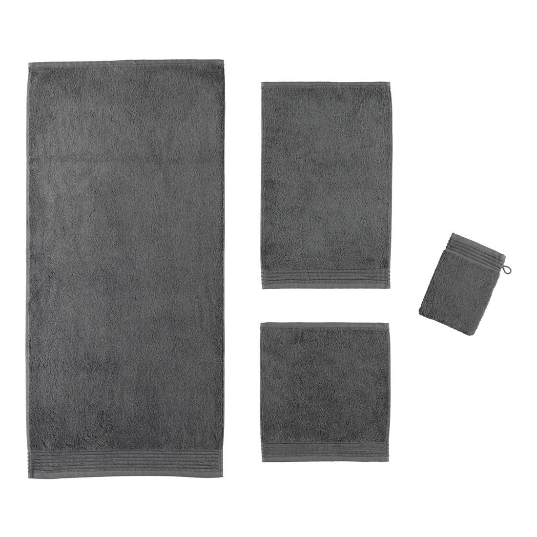 Handtuch LOFT – 100% Baumwolle graphit – 843 – Gästetuch: 30 x 50 cm, Möve günstig bestellen