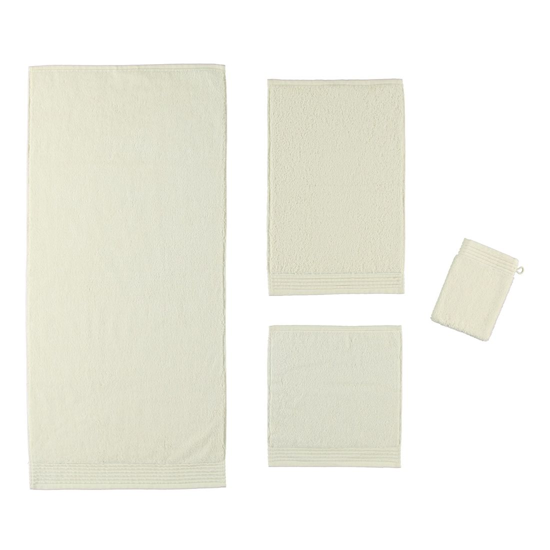 Handtuch LOFT – 100% Baumwolle ivory – 017 – Duschtuch: 80 x 150 cm, Möve günstig online kaufen