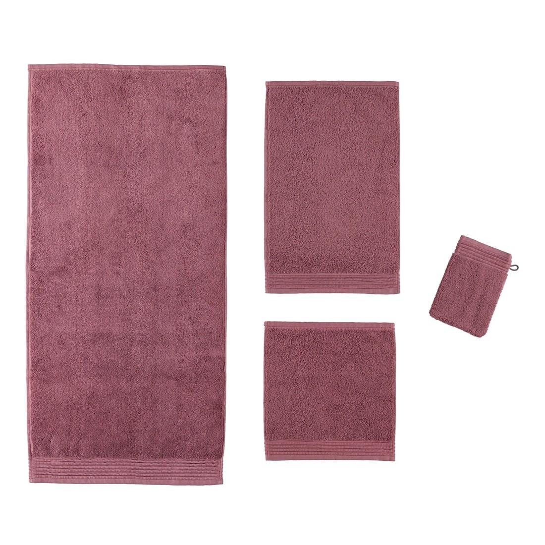 Handtuch LOFT – 100% Baumwolle rose wood – 370 – Waschhandschuh: 15 x 20 cm, Möve günstig