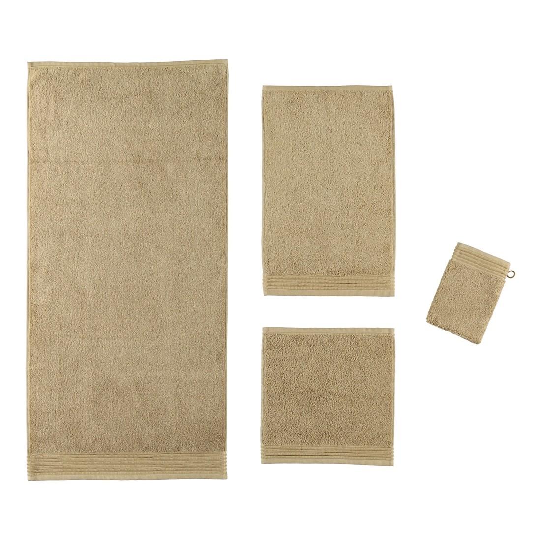 Handtuch LOFT – 100% Baumwolle wood – 708 – Gästetuch: 30 x 50 cm, Möve günstig online kaufen