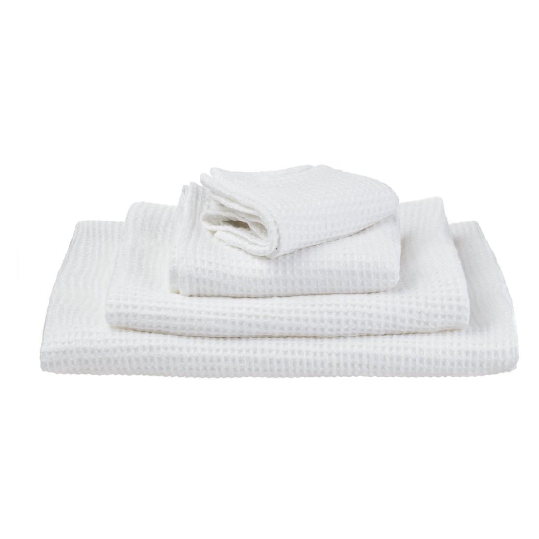 Handtuch Neris – Weiß – 50 x 70 cm Handtuch, Urbanara kaufen